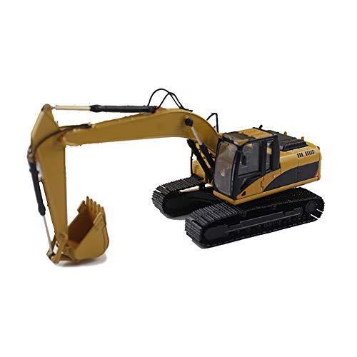 ROCK1ON Diecast Modelo de Excavadora Martillo Hidráulica de Metal 1:50 Juguete para Vehículos de Construcción Decoración de Hogar y Oficina Navidad Cumpleaños Regalo para Niño,Excavator