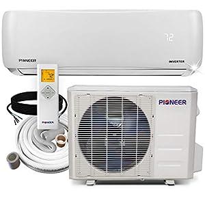 PIONEER Air Conditioner Pioneer Mini Split Heatpump, 12000 BTU-208/230 V