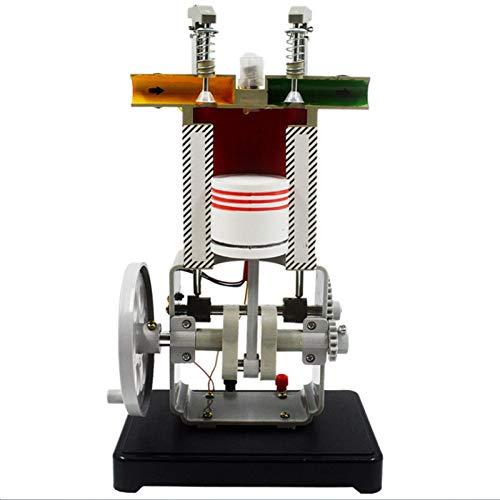 Modelo de Motor Gasolina Ciencias - Modelo de Motor de Gasolina de 4 Tiempos - Herramienta Práctica de Enseñanza