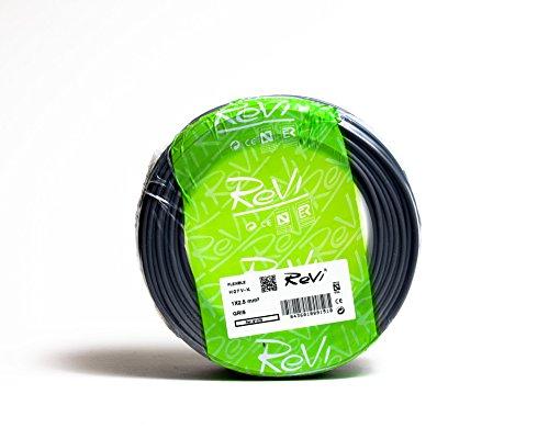 Cable FLEXIBLE H07V-K 1 x 2,5 mm² 100 m (Gris)