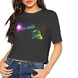 Photo de I See Stars T-shirt à manches courtes pour femme Noir - - S