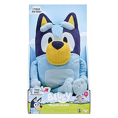 "Bluey - 13"" Talking Plush from Moose Toys"