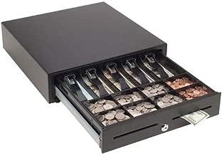 Mmf Cash Drawer MMF-VL1616E-04 MMF Val-U Line Electronic Cash Drawer, 5 Bill/8 Coin Till, Printer-Driven, 16.2