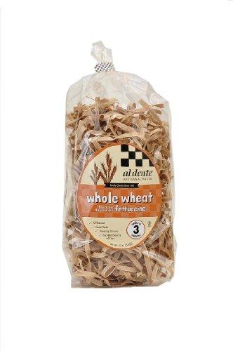 Al Dente Whole Wheat Fettuccine, 12-Ounce Bag (Pack of 6)