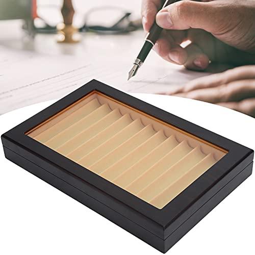 Caja de colección de bolígrafos, antideslizante sin decoloración Caja de exhibición de bolígrafo resistente al desgaste para escaparates