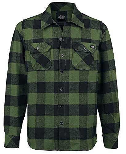 Dickies Herren Sacramento Freizeithemd, Grün (Pine Green Pg), XX-Large