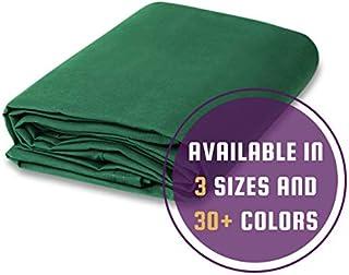 Cotton Canvas Drop Cloth (10 feet x 12 feet, Green)