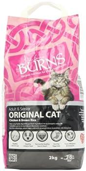 Burns Feline Complete Chicken & Brown Rice 2kg 09A