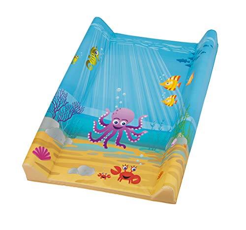 Rotho Babydesign Matelas à Langer à 2 Rebords Ocean StyLe!, À partir de 0 Mois, 70 x 50 cm, StyLe!, Bleu, 20099012576