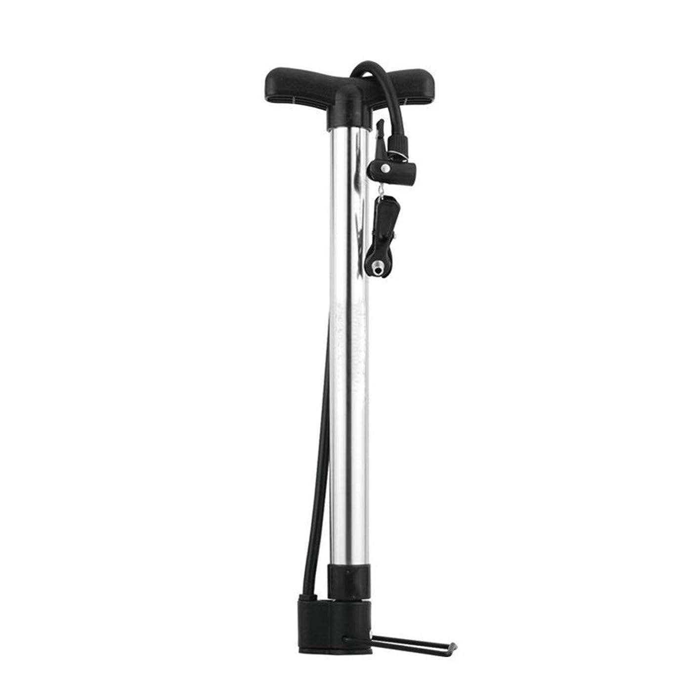 なめる白い意識自転車用ポンプ ガスシリンダーカーボールアルミ合金口口マウンテンバイクポンプ 耐久性高 多機能