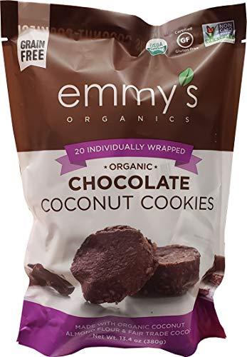 Emmy's Organics Chocolate Coconut Cookies, 13.4 oz