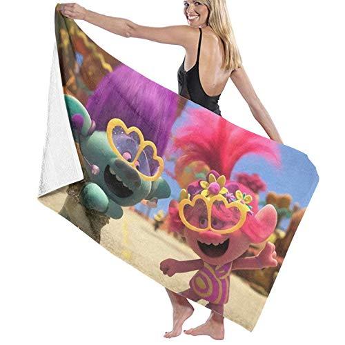 T-Ro-Ll-S - Toallas de baño de secado rápido, extragrandes para mujeres/hombres/niños de playa/natación/senderismo/camping