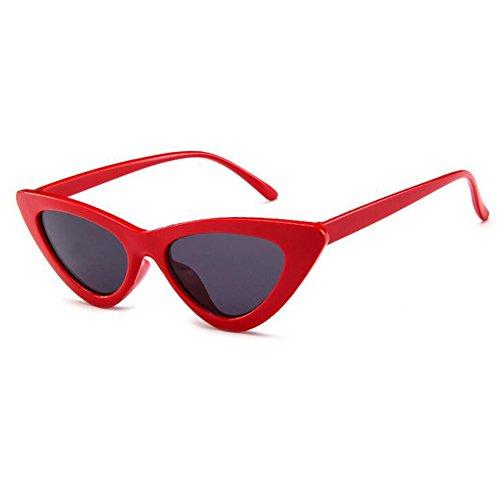 Hzjundasi Katzenaugen-Sonnenbrille Vintage Mod Style Retro Kurt Cobain Sonnenbrille