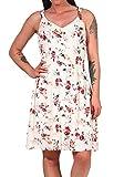 Only ONLKARMEN S/L Short Dress AOP WVN Noos Vestido Casual, Crema Brûlée, 38 para Mujer