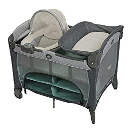 Graco Pack 'n Play Newborn Seat DLX Playard, Manor