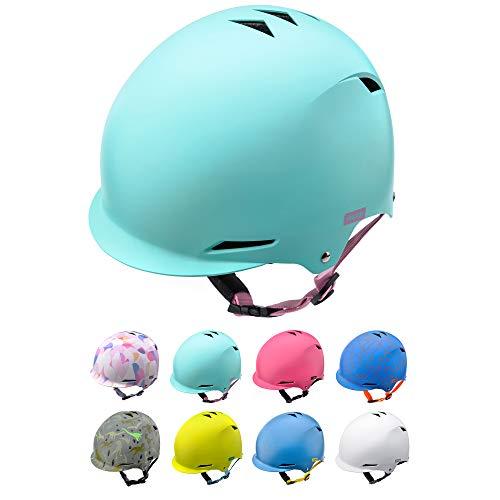 Casco Bicicleta Bebe Helmet Bici Ciclismo para Niño - Cascos para Infantil Bici Helmet para Patinete Ciclismo Montaña BMX Carretera Skate Patines monopatines (M 52-56 cm, Mint)