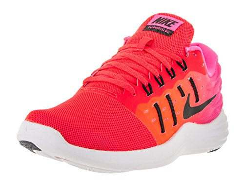 Nike 844736-600, Zapatillas de Trail Running Mujer, Naranja (Bright Crimson/Black-Pink Blast-White), 40 EU