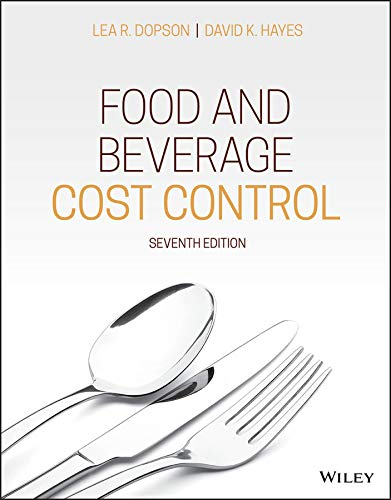 Food and Beverage Cost Control 7th Edition