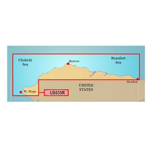 GARMIN VUS035R NORTH SLOPE ALASKA BLUECHART G2 VISION