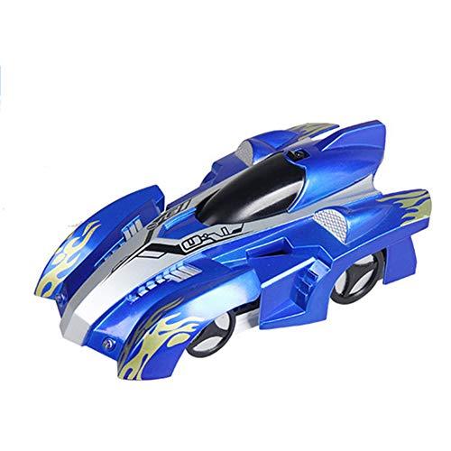 Rc-Rennwagen Fernbedienung Autos Wall Climbing Car Spielzeug Elektrische Fahrzeuge Spielzeug Oder Kinder, M?dchen Built-In Batterie (Sky Blue)
