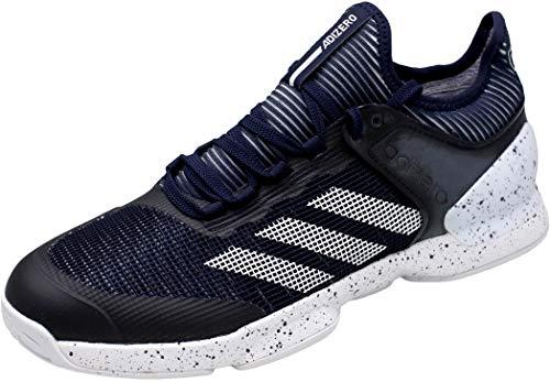 adidas Adizero Ubersonic 2, Scarpe da Tennis Uomo, Blu (Tinley Ftwbla Tinley), 45 1/3 EU