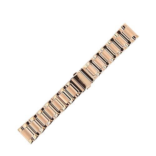 Tommy Hilfiger Uhrenarmband 20 mm Edelstahl Gold Rosegold - Uhrband 679001084