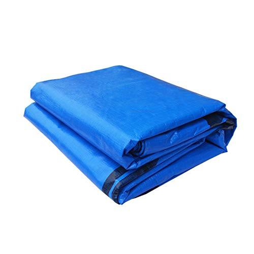 MENG - Lona Impermeable Azul con Revestimiento de PE