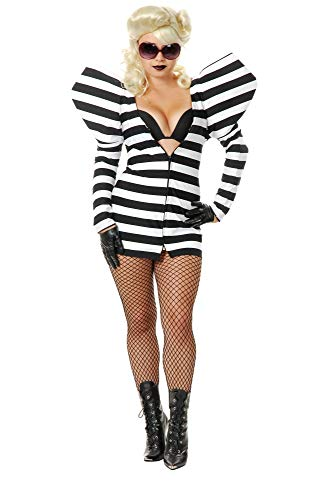 Charades Lady G Prison Dress Costume