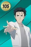 Sketchbook for Boys: Rintarou Okabe - Steins Gate Anime Manga Series Fan's Sketch Pad with Blank Paper for Writing, Drawing, Sketching, Doodling and Coloring