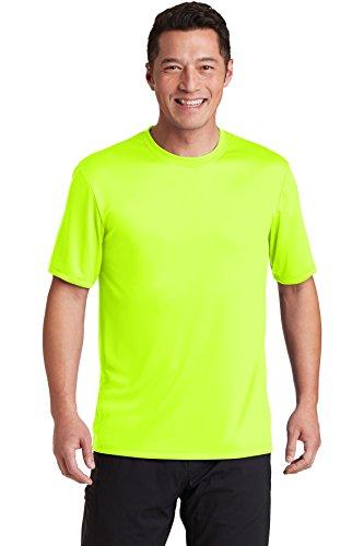 Hanes mens Sport Cool Dri Performance Tee fashion t shirts, Safety Green, X-Large US