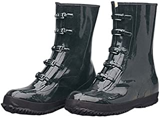 Liberty DuraWear Rubber Fabric Lined Protective Arctic Men's Boot with 5 Buckles, Size 16, Black