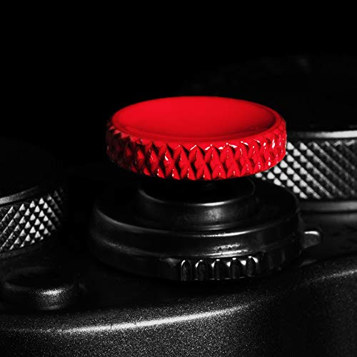 Camera Shutter Button (2 Pack/Red) Upscale and Delicate Soft Shutter Release Button