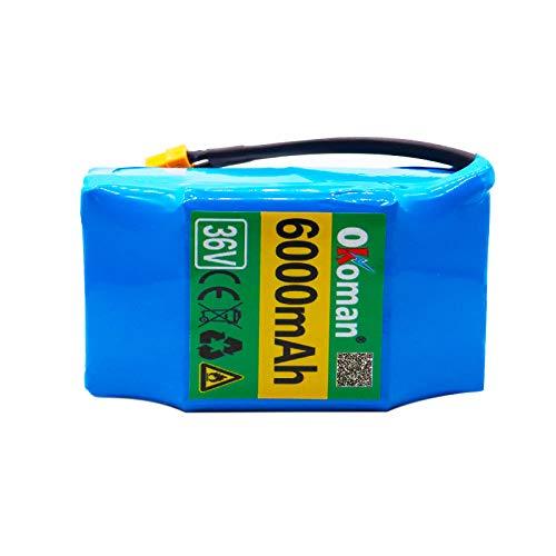 Paquete de batería de Iones de Litio Recargable de 36V 6ah 10S2P,...