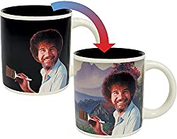 Bob Ross Heat Changing Coffee Mug