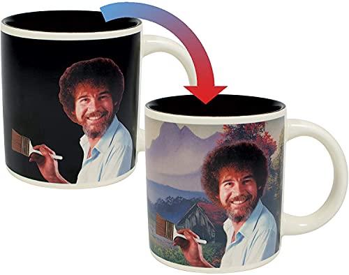 Bob Ross Self-Painting Tasse–in einer witzigen Geschenk-Box