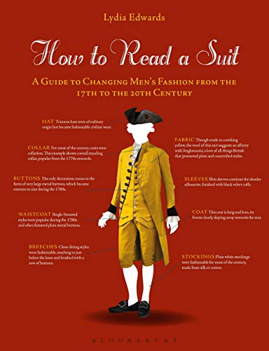 How to Read a Suit: A Guide to Changing Mens Fashion from the 17th to the 20th Century