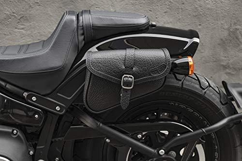 bester der welt Ledertaschen mit Schnellverschluss wurden bei Harley-Davidson Fat BOB, Lowrider S, Street… 2021