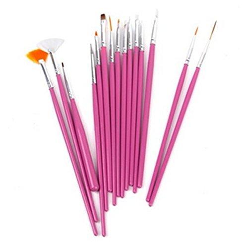 Hemore Malerpinsel-Set Multifunktional Haarbürsten für Aquarellfarben Öle Acryl und Detailmalerei, 1, M