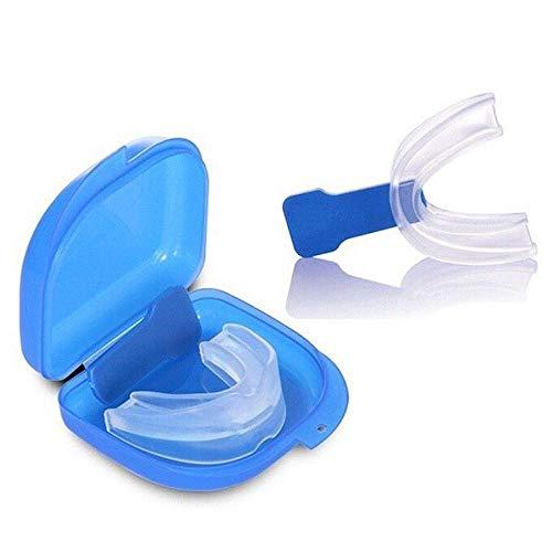 LEIJINGZI Worth having - 2 Paquete Snore Stopper: boquilla anti ronquida, guardia de noche ajustada personalizada para su boca, el mejor dispositivo de protección de la boca para una noche tranquila,