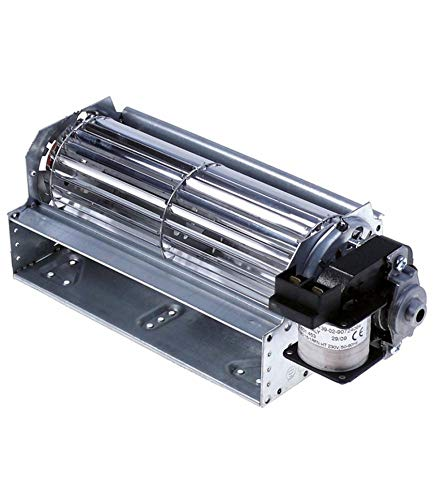 Chiskoit 398546 Ventilateur tangentiel Tfr 180 mm diamètre 60 mm longueur moteur 180 mm épaisseur paquet moteur 16 mm