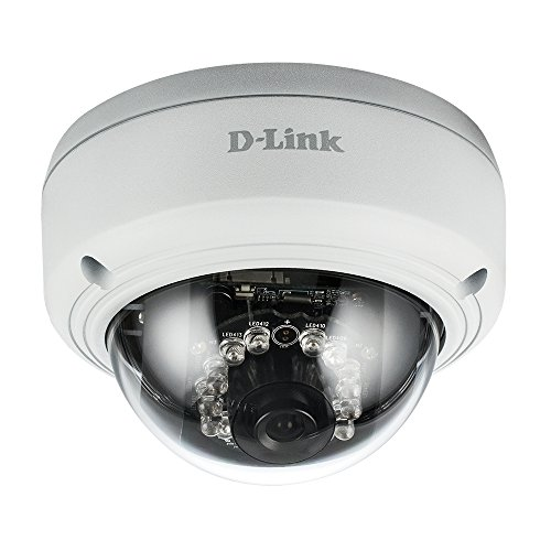 D-Link Vagnoance Full HD Dome camera, wit/zwart (DCS-4602EV)