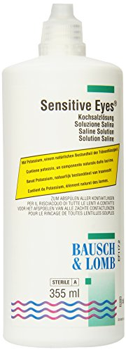 Bausch & Lomb Sensitive Eyes Saline, 355 ml Kochsalzlösung