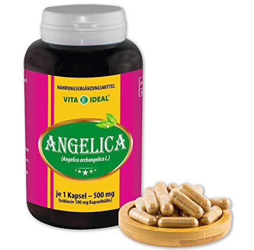Vita IDEAL ® Angelica (Sinensis, engelworz, archangelica) 360 capsules per 600 mg, van zuiver natuurlijke kruiden, zonder additieven
