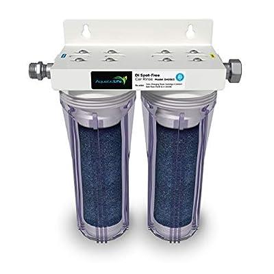 AQUATICLIFE Aquatic Life Deionized Spot-Free Car Rinse Unit - Premium Water Deionizer for Car Washing - Spotless Car, RV, and Motorcycle Wash System