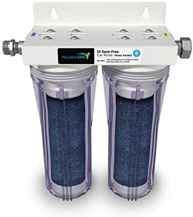 San Francisco Mall AQUATICLIFE Under blast sales Deionized Spot-Free Car Rinse - Unit Premium Water D
