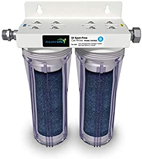 AQUATICLIFE Aquatic Life Deionized Spot-Free Car Rinse Unit - Premium Water Deionizer for Car Washing - Spotless Car, RV, and Motorcycle Wash System