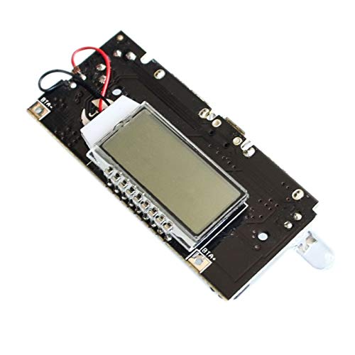 DIYUKMALL Dual USB 5V 1A 2.1A Mobile Power Bank 18650 Battery Charger PCB Power Module Accessories For Phone DIY New LED LCD Module Board