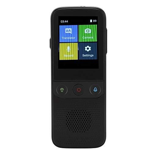 VBESTLIFE Smart Sprachübersetzer Mini Instant Sprachübersetzer Gerät ABS 1500mAh Akkukapazität Ausdauer Zeit lang für Android