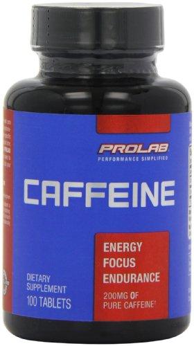 Prolab - Cápsulas de cafeína (100 unidades)