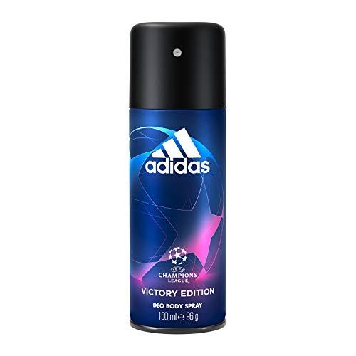 Adidas, UEFA Champions League Victory Edition Deodorante Spray Uomo, Freschezza a Lungo, 150 ml